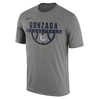 Men's Nike Gonzaga Bulldogs Dri-FIT Basketball Tee
