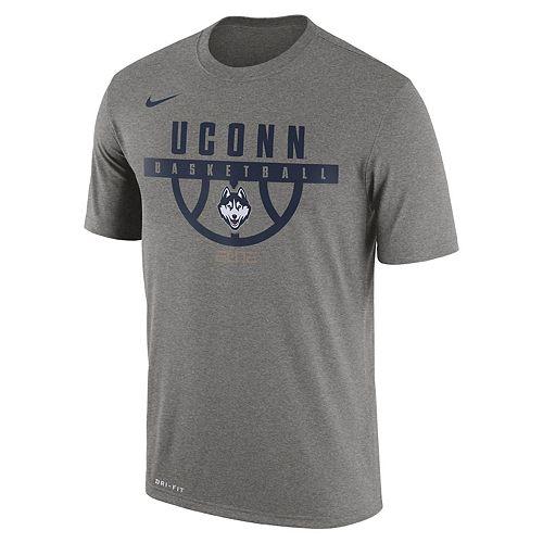 detailed look e4382 7cc3b Men's Nike UConn Huskies Dri-FIT Basketball Tee