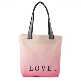 """love this life """"Love..."""" Dip-Dyed Tote"""