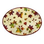 Celebrate Fall Together Quilted Leaf Placemat