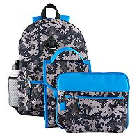 Kids 6 pc Digi Camouflage Backpack & Accessories Set