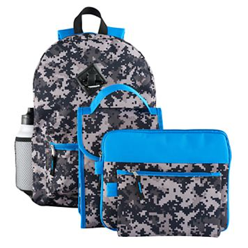 Kids 6-pc. Digi Camouflage Backpack & Accessories Set