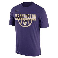 Men's Nike Washington Huskies Dri-FIT Basketball Tee