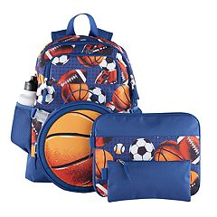 Kids 5 pc Sports Backpack & Accessories Set