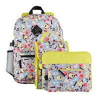 Kids 6-pc. Emoji Icon Backpack & Accessories Set