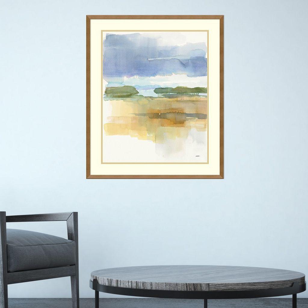 Amanti Art Dusk Crop Framed Wall Art