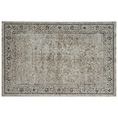 Rugs America Cambridge Vintage Framed Floral II Rug