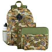 Kids 6 pc Camouflage Backpack & Accessories Set