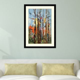 Amanti Art Eclectic Forest Framed Wall Art