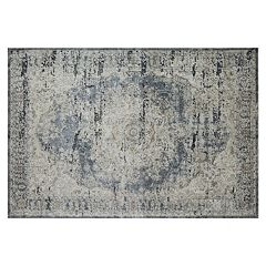Rugs America Cambridge Vintage Framed Floral IV Rug