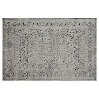 Rugs America Cambridge Vintage Framed Floral V Rug