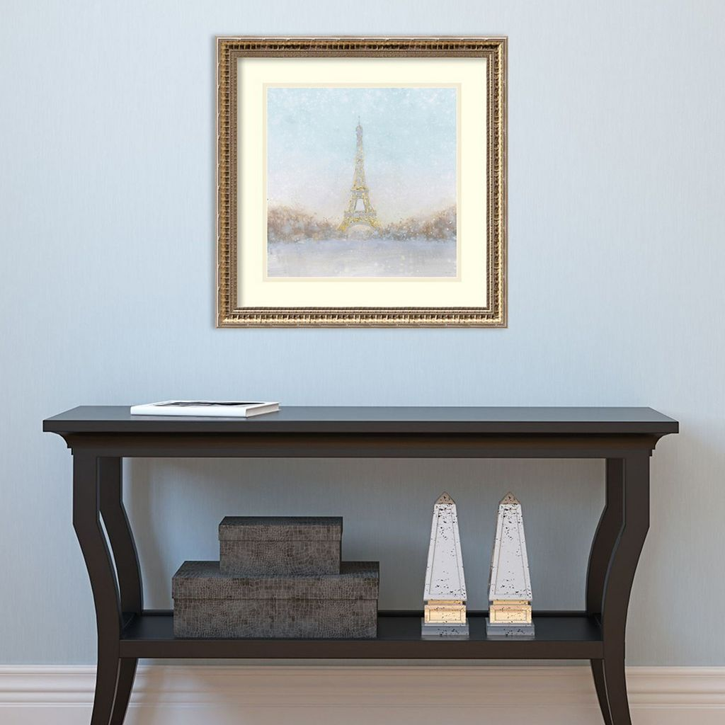 Amanti Art Paris Eiffel Romance Framed Wall Art