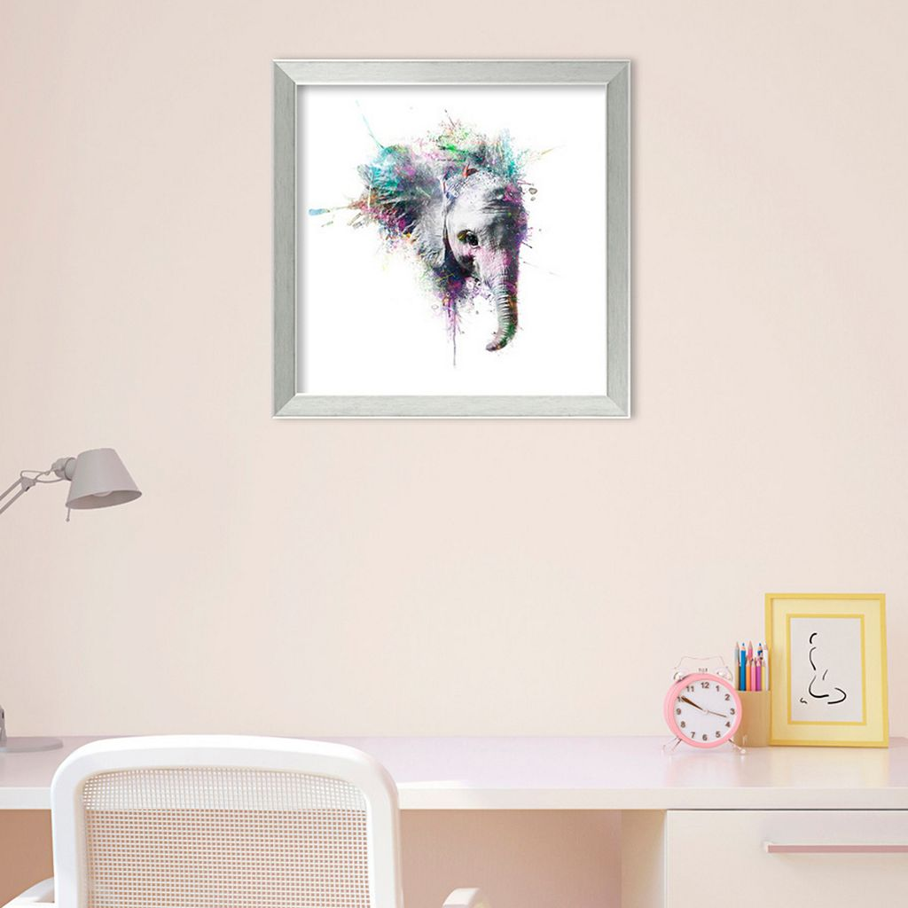 Amanti Art Elephant Framed Wall Art