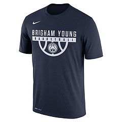 Men's Nike BYU Cougars Dri-FIT Basketball Tee