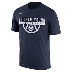 Men's Nike BYU Cougars Dri-FIT Basketball Tee
