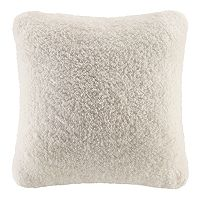 Cuddl Duds Sherpa Fleece Oversized Throw Pillow