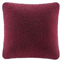 Cuddl Duds Sherpa Fleece Oversized Throw Pillow