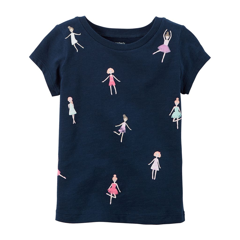 Baby Girl Carter's Doll Graphic Tee