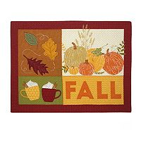 Celebrate Fall Together Fall Patchwork Placemat