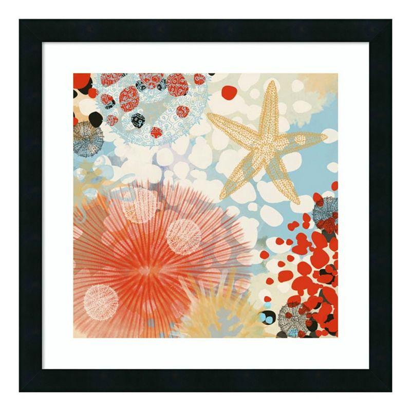 Amanti Art Exotic Sea Life II Framed Wall Art. Multicolor. 22X22