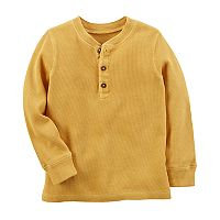 Baby Boy Carter's Long Sleeve Thermal Henley