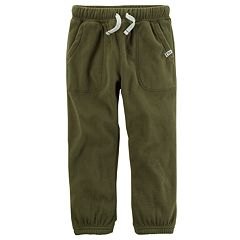 Baby Boy Carter's Pre-Washed Fleece Pants