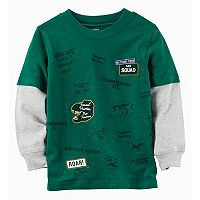 Baby Boy Carter's Mock Layer Graphic Tee
