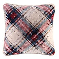Cuddl Duds Bonnie Plaid Oversized Throw Pillow