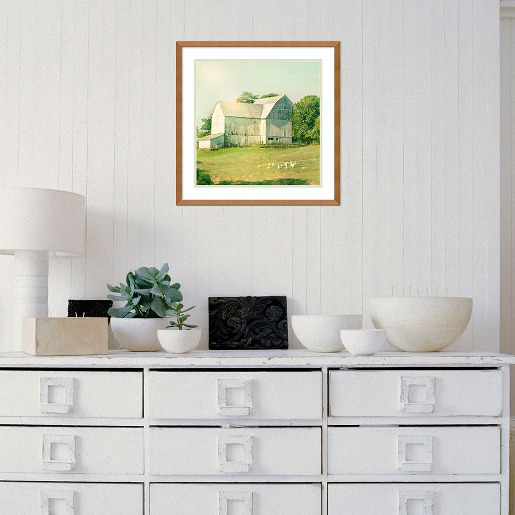 Amanti Art Farm Morning III Framed Wall Art