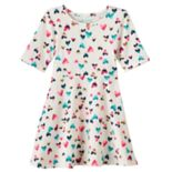 Toddler Girl Jumping Beans® Foiled Skater Dress