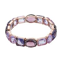Jennifer Lopez Geometric Stone Stretch Bracelet