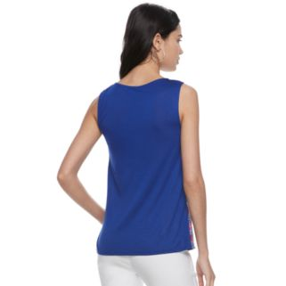 Women's ELLE™ Pleated Tank Top