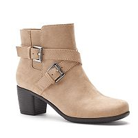 Croft & Barrow® Bertha Women's Ortholite Ankle Boots