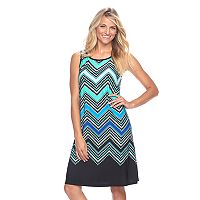 Women's Ronni Nicole Chevron Shift Dress