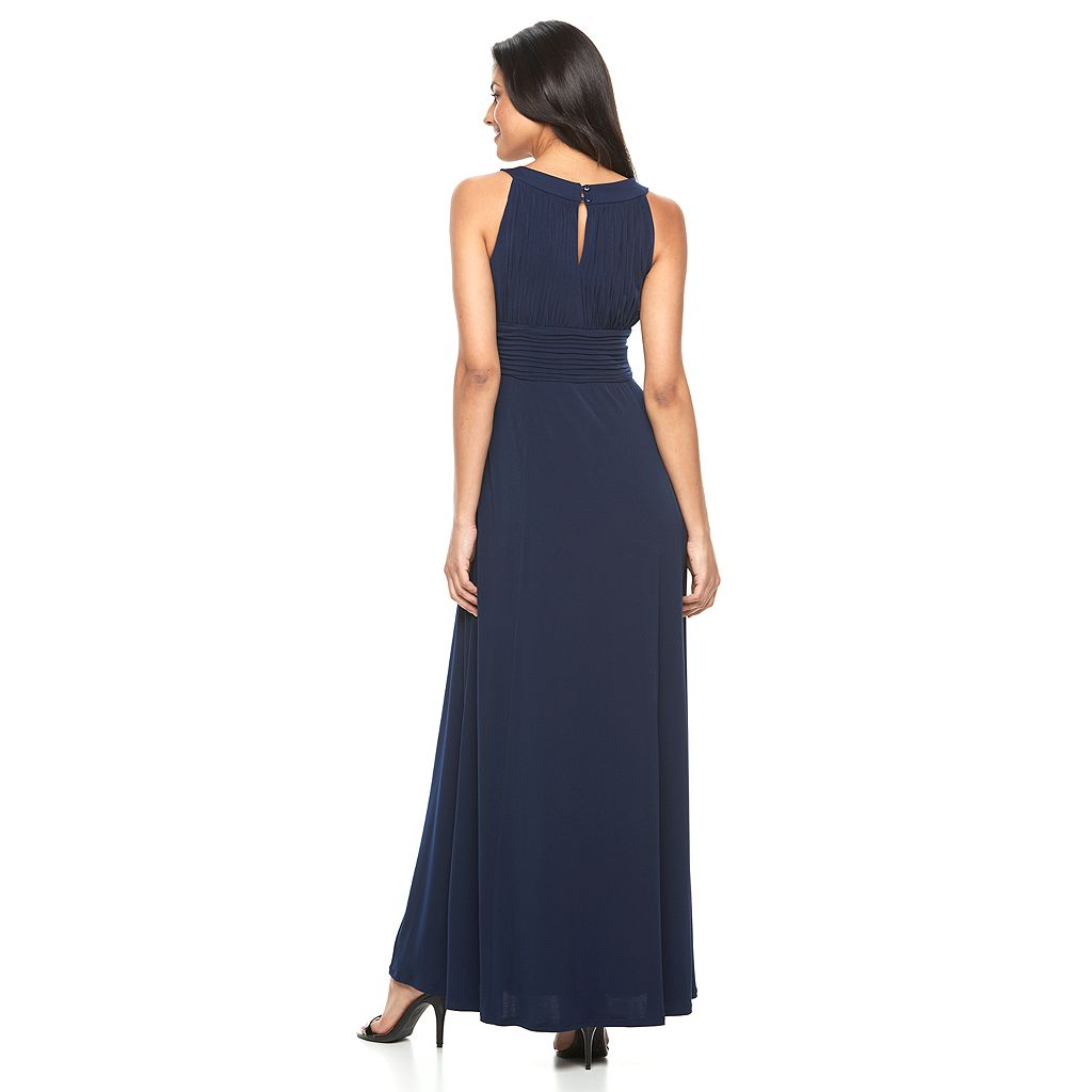 Women's Chaya Embellished Pintuck Evening Gown