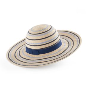 Women's REED Striped Floppy Hat