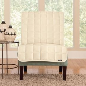 Sure Fit Deluxe Comfort Armless Chair Slipcover