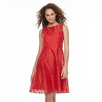 Women's Chaya Illusion Lace Fit & Flare Dress
