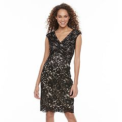 Women's Chaya Sequin Lace Sheath Dress