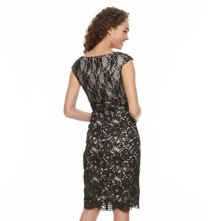 Women's Chaya Sequin Lace Sheath Dress
