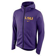 Men's Nike LSU Tigers Elite Fleece Hoodie