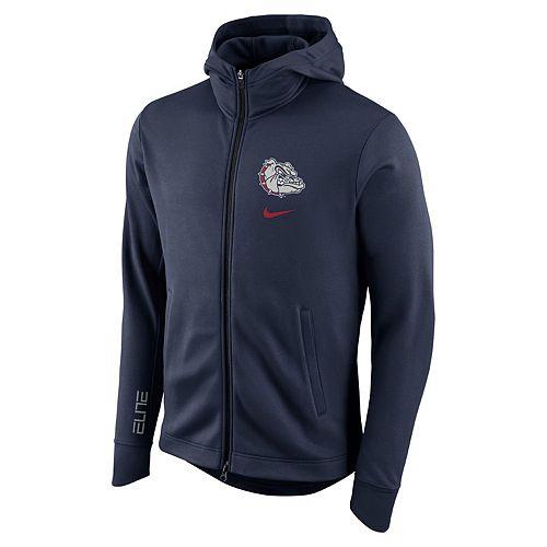Men's Nike Gonzaga Bulldogs Elite Fleece Hoodie