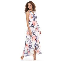 Women's Chaya Floral Faux-Wrap Dress