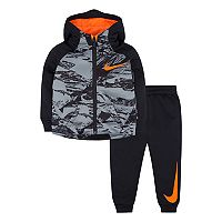 Baby Boy Nike Therma Hoodie & Pants Set