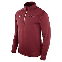 Men's Nike Arkansas Razorbacks Quarter-Zip Therma Top