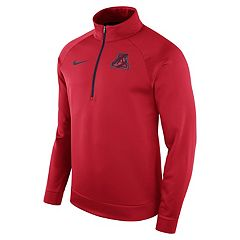 Men's Nike Arizona Wildcats Quarter-Zip Therma Top