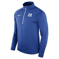 Men's Nike Duke Blue Devils Quarter-Zip Therma Top
