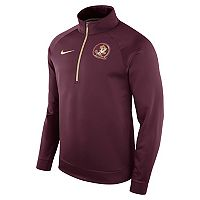 Men's Nike Florida State Seminoles Quarter-Zip Therma Top
