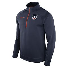 Men's Nike Illinois Fighting Illini Quarter-Zip Therma Top