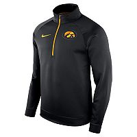 Men's Nike Iowa Hawkeyes Quarter-Zip Therma Top